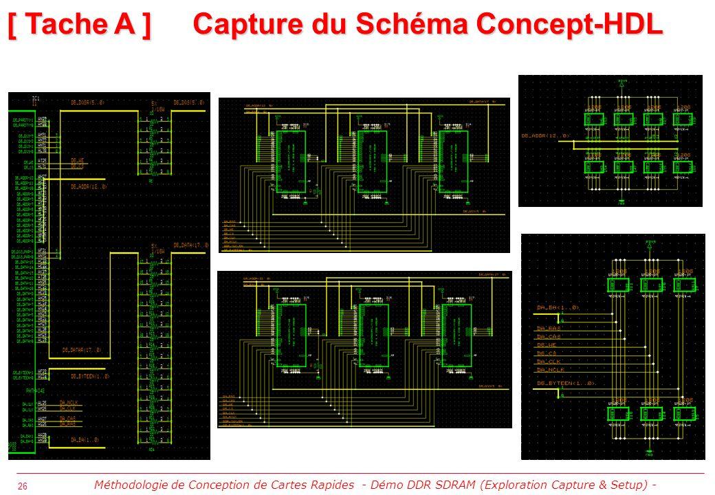 [ Tache A ] Capture du Schéma Concept-HDL